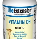 Life Extension Joint Support – Vitamin D3 1000 IU – 90 Softgels