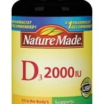 Nature Made Immune Support – Vitamin D3 2000 IU – 100 Tablets
