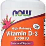 NOW Joint Support – Vitamin D-3 2000 IU – 240 Softgels