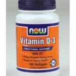 NOW Joint Support – Vitamin D-3 400 IU – 180 Softgels