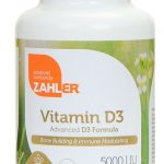 Zahler Immune Support – Vitamin D3 5000 IU – 250 Softgels