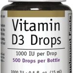 Bioclinic Naturals General Health – Vitamin D3 Drops 1000 IU – 0.5 fl.