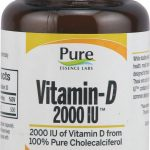 Pure Essence Labs Joint Support – Vitamin-D 2000 IU – 30 Capsules