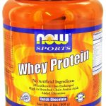 NOW Protein – NOW Sports – Whey Protein Dutch Chocolate – 2 lbs (907