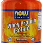 NOW Protein – NOW Sports – Whey Protein Isolate Vanilla – 1.8 lbs