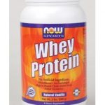 NOW Amino Acids – NOW Sports – Whey Protein Natural Vanilla – 2 lbs