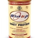 Solgar Vitamin and Herb Protein – Whey To Go Protein Powder Natural