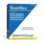 Advanced Naturals Gastrointestinal/Digestive – YeastMax – 2-Part Kit