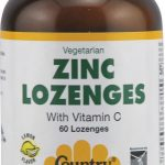 Country Life Immune Support – Zinc Lozenges (Lemon Flavor) – 60